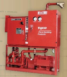 Fire Protection System provides pre-wired/piped solution.