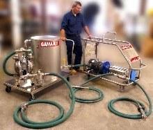 Portable Tank Cleaning System replaces CIP installations.