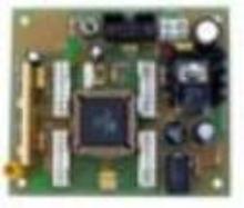 Microcontroller Board features radio link.
