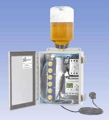 Lubrication System uses infrared photo sensor.