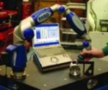 Portable CMMs provide 3D measurement capabilities.