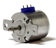 Miniature Stepper Motors operate at up to 2,500 steps/sec.