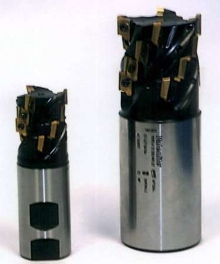Extended Flute End Mills are suited for slab milling.