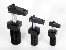 Clamping Devices offer hydraulic and pneumatic operation.