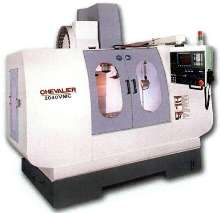 Upgradeable VMC has 40 x 20 x 20 in. work envelope.