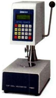 Viscometer measures low-viscosity products.