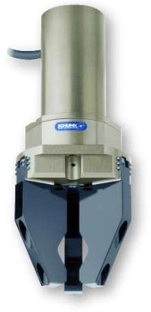 Servo-Electric Grippers include position feedback.