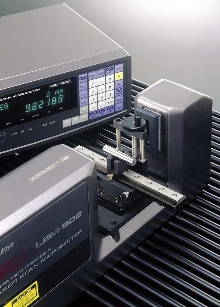 Laser Scan Micrometer performs up to 1,600 scans/sec.