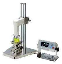 Viscometer measures from 1,000-100,000 cp.