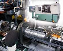 CNC Grinder suits high volume piston ring applications.