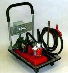 Portable Pump System handles corrosive and toxic chemicals.