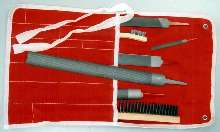 Welder's Kit includes 5 metal removal files.