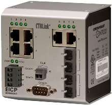 Compact Ethernet Switches include management features.