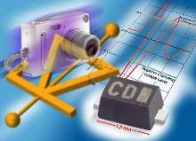 ESD Protection Diodes provide working voltage of 1-12 V.