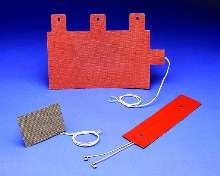 Flexible Heaters come in Kapton® and silicone rubber.