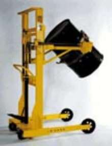 Drum Dumper handles up to 850 lb.
