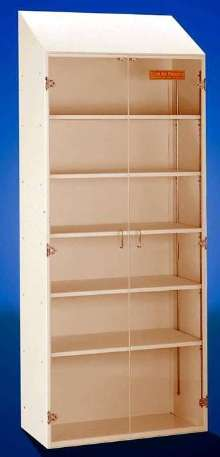 Storage Cabinet is cleanroom-compatible.
