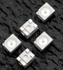 Surface Mount LEDs suit effect lighting applications.
