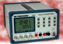 LCR/ESR Meter tests components at up to 200 kHz.
