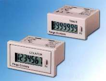 Totalizing Counters and Timers are lithium battery powered.