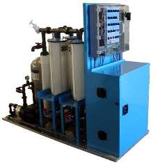 Wash Water Treatment System provides on-site operation.