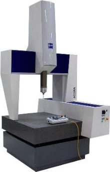 Coordinate Measuring Machine utilizes multi-sensor technology.