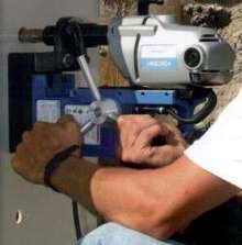 Magnetic Drills incorporate LED indicator for safety.