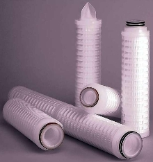 Prefilter combines benefits of membrane and depth filters.