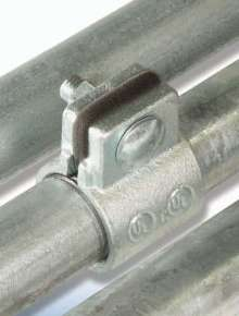 Split Couplings connect conduit in tight spaces.
