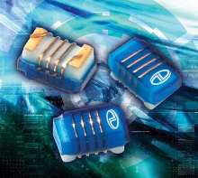 Wirewound Chip Inductors protect electronic circuitry.