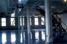 Epoxy Coating protects high traffic areas.