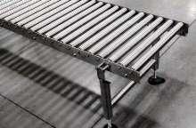 Roller Conveyors suit demanding sanitary environments.