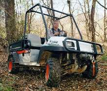 Utility Vehicle incorporates intelligent drive system.