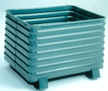 Corrugated Containers provide bulk storage.