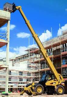 Telehandler incorporates 4-section boom.