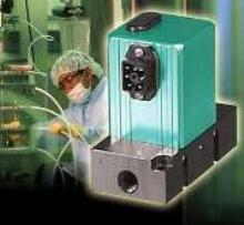 Flow Transducer provides real-time measurement.