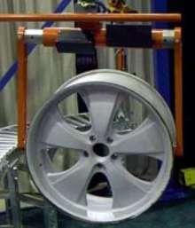 End Effectors target wheel handling operations.