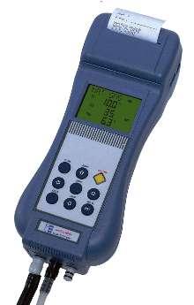 Portable Gas Analyzer provides flue gas analysis.