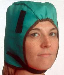 Hat Liner keeps head warm in cold conditions.