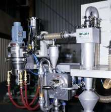 Laboratory Classifier features gas flow volume of 29 scfm.