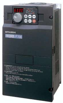Variable Frequency Drive controls 1-800 hp motors.