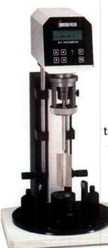 Soft Solids Tester is available with custom vane spindles.