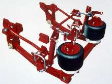 Suspension System supports firefighting vehicles.