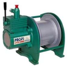 Air Winches are offered in various configurations.