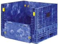 Containers feature non-sequential folding sidewalls.