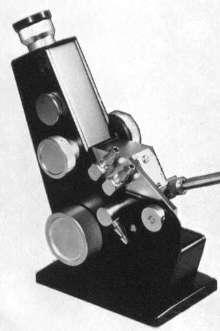 Refractometer measures refractive index and brix.