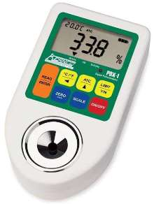 Digital Refractometers feature high and low alarms.