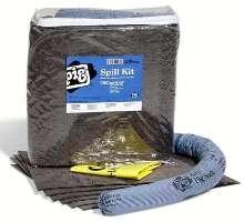Clear Spill Kit handles non-aggressive spills.