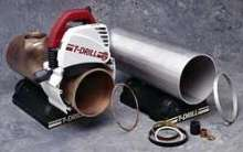 Pipe Cutting System delivers square, burr-free cut.