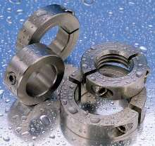 Stainless Steel Collars suit harsh and wet environments.
